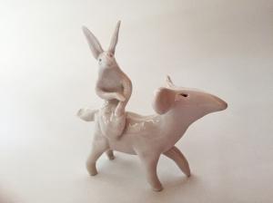 Imaginary-rabbit-dog